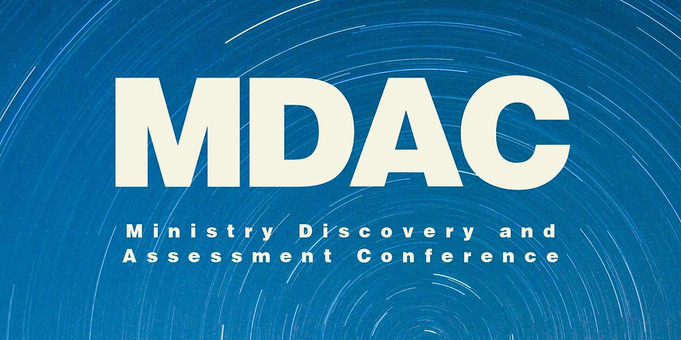 Ministry Discovery and Assessment Conference