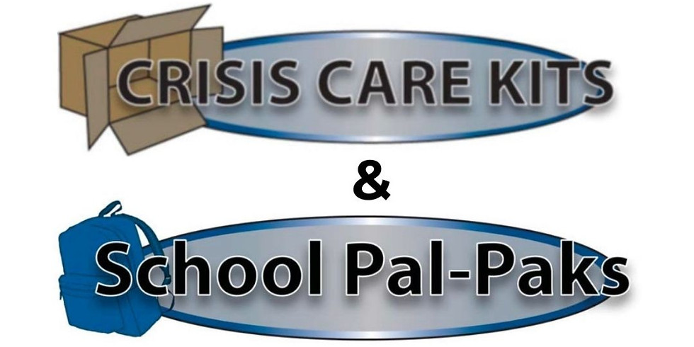Crisis Care Kits and School Pal Paks Collection