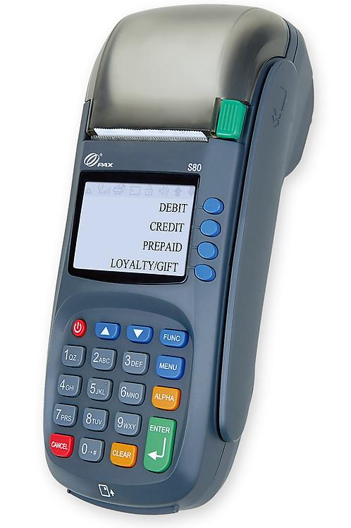 Стационарный терминал с GPRS PAX S80 / VeriFone Vx 520