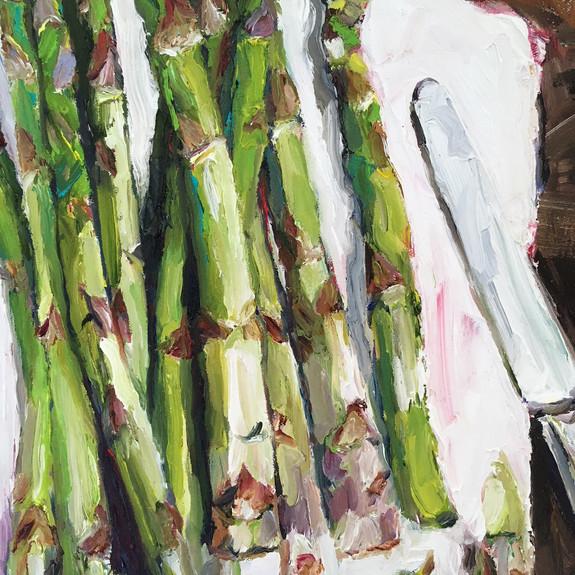 Still Life with Asparagus (detail)