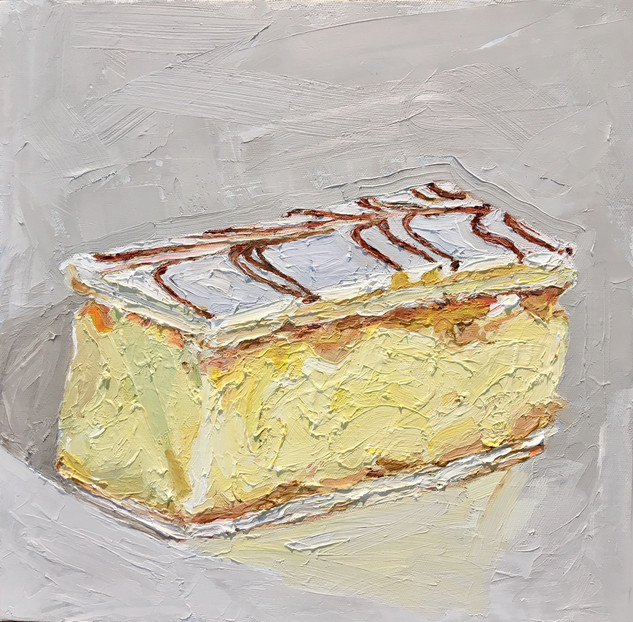 1st Place CWA Cake Section - Vanilla Slice