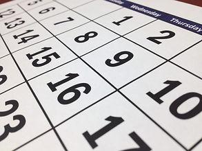 Emannuel's Somerville Church NJ Calendar