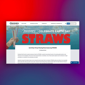 Earth Day Campaign ft. Straws