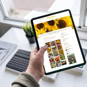 The Sunflower Gardens Website