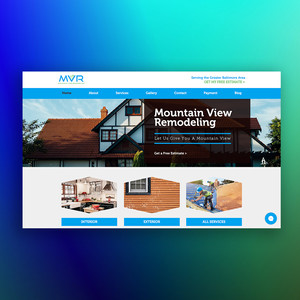 Mountain View Remodeling Website