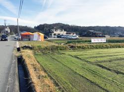 神戸三田、いちご狩り、新さんだ農園 いな岡_直売看板