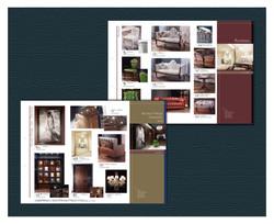 家具販売リーフレット 片三つ折り
