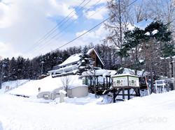 フラノデリスの雪景色
