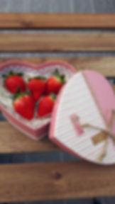 神戸三田,兵庫県,いちご狩り,新さんだ農園 いな岡のいちご直売用のかわいいパッケージ