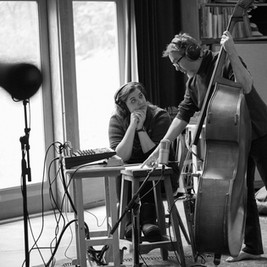 The W Lovers Recording Album This Little Town at Bear Creek Studio - Photo by Laura Tait Photography