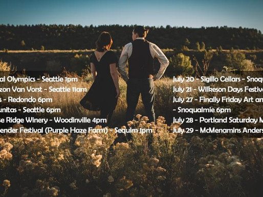 July Shows.