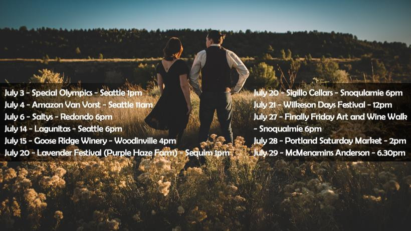 The W Lovers Shows July Seattle Music