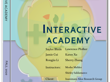 Project Branding: Interactive Academy with Inanimate Alice !
