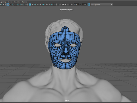 Retopologied, UV-ed and Ready to go, maybe?
