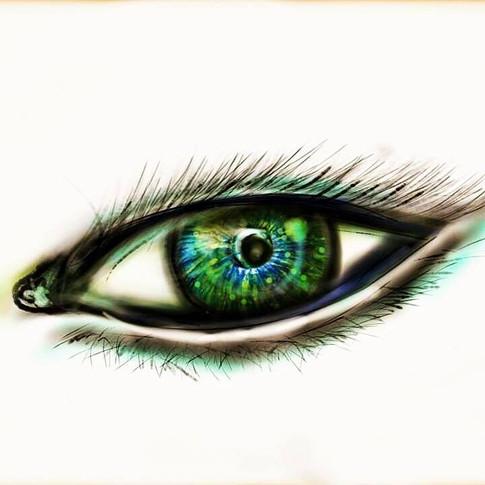 In the eye of an angel - Original