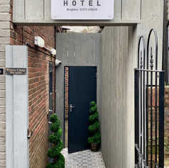 Private Guest Entrance