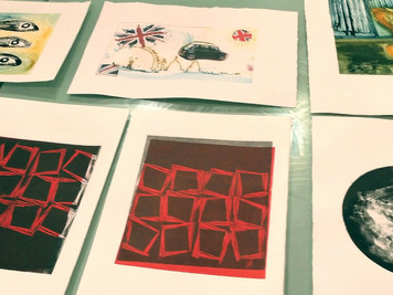 New Beginners Printmaking - September 2017