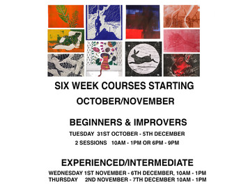 Courses up and coming!