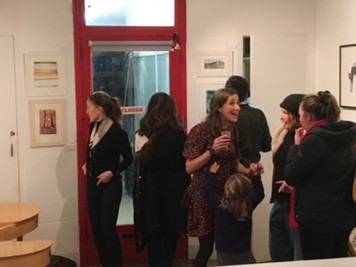 New Courses and Printmakers Exhibition Private View!