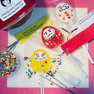 Getting ready for Candy Daruma Workshop.