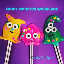 Candy Monster Workshop ❤️💛💚💙💜💕you c