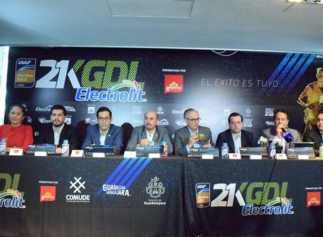 21K Electrolit de Guadalajara, ¡Logra etiqueta de oro!
