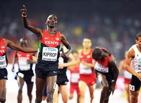 Positivo de Kiprop, con un oro olímpico y tres mundiales (1.500)