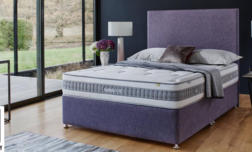 "Shine Plus 2000 3'0"" Single mattress"