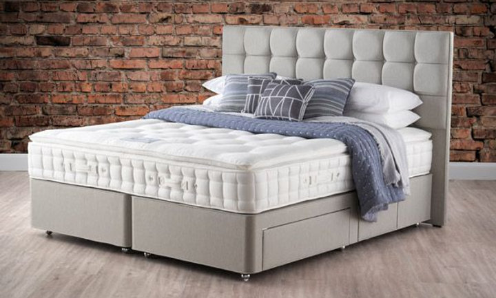 "Pillow Top Aurora 4'0""/4'6"" Double Mattress"