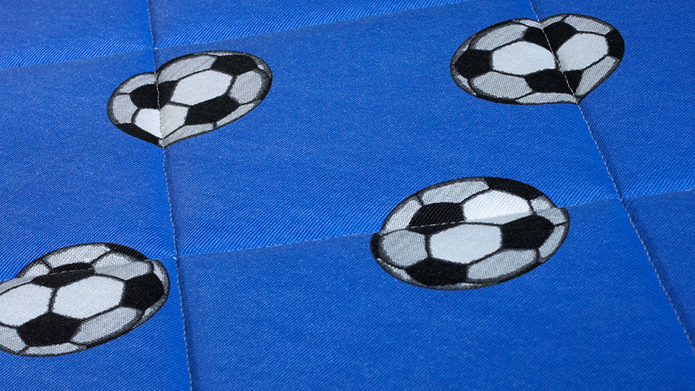 Candy Mattress Football Blue