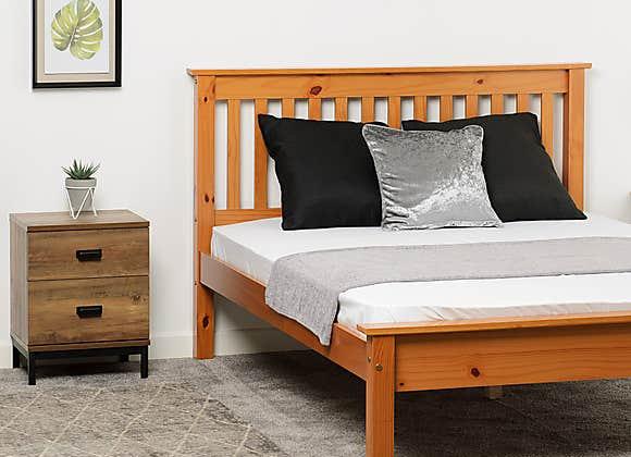 """4'6"""" Double Monaco Bed Frame"""