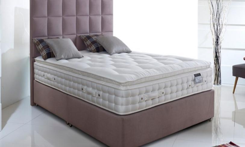 """Pillowtop 5000 6'0"""" Superking Mattress"""