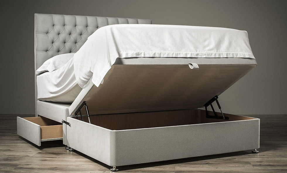 """4'6"""" Double Half Opening Ottoman Package"""