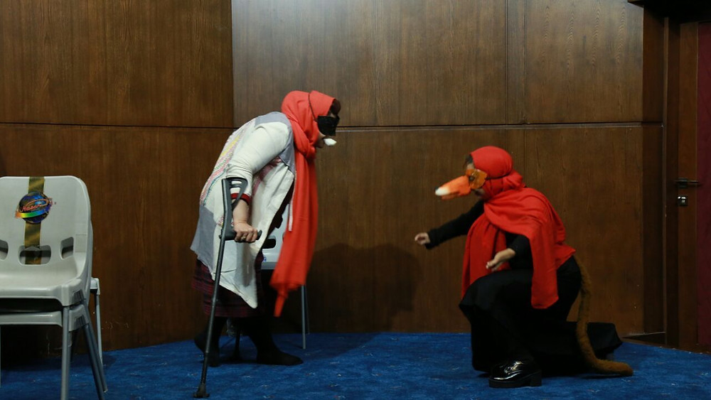 Performance in the first national Scientific Seminar of Drama Therapy in Iran