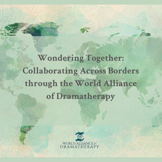 PRAGUE: WADth representatives speak at the 2021 European Federation of Dramatherapy Conference