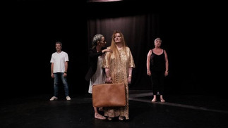 "FRANCE: ""Résilience""- a drama therapy  play by patients from the Cèdres clinic in Cornebarrieu"
