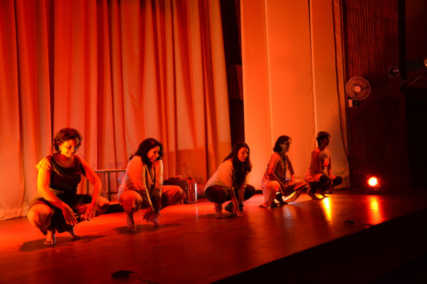 Therapeutic theater performance about sexual abuse in India.