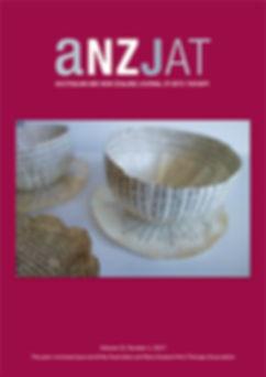 Arts therapies journal cover, Ausralia, New Zealand, Singapore