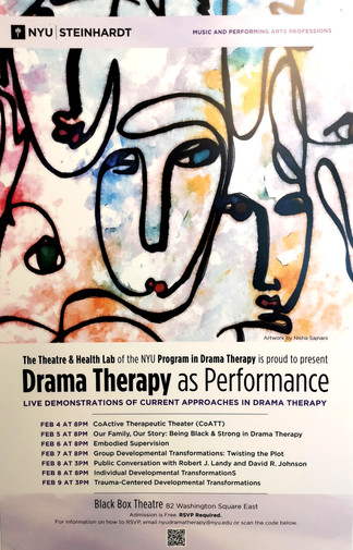 USA: Drama Therapy As Performance series from February 4-9