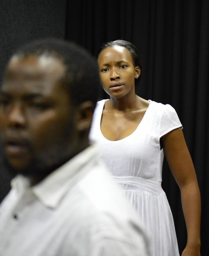 Therapeutic theater performance about hearing voices, South Africa.
