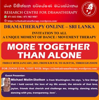 Sri Lanka: Drama Therapy Online Event