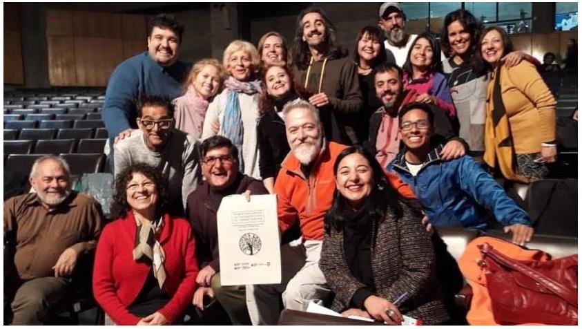 Primer Encuentro Latinoamericano de Dramaterapia: Construyendo Saberes Dramaterapéuticos desde el Territorio, las Comunidades y la Diversidad Cultural, Chile