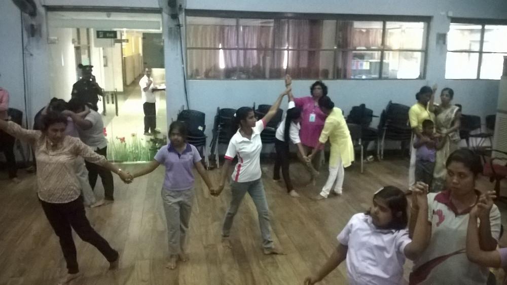 Sri Lanka, ethnodramatherapy, research, performance, drama therapy, movement exercise