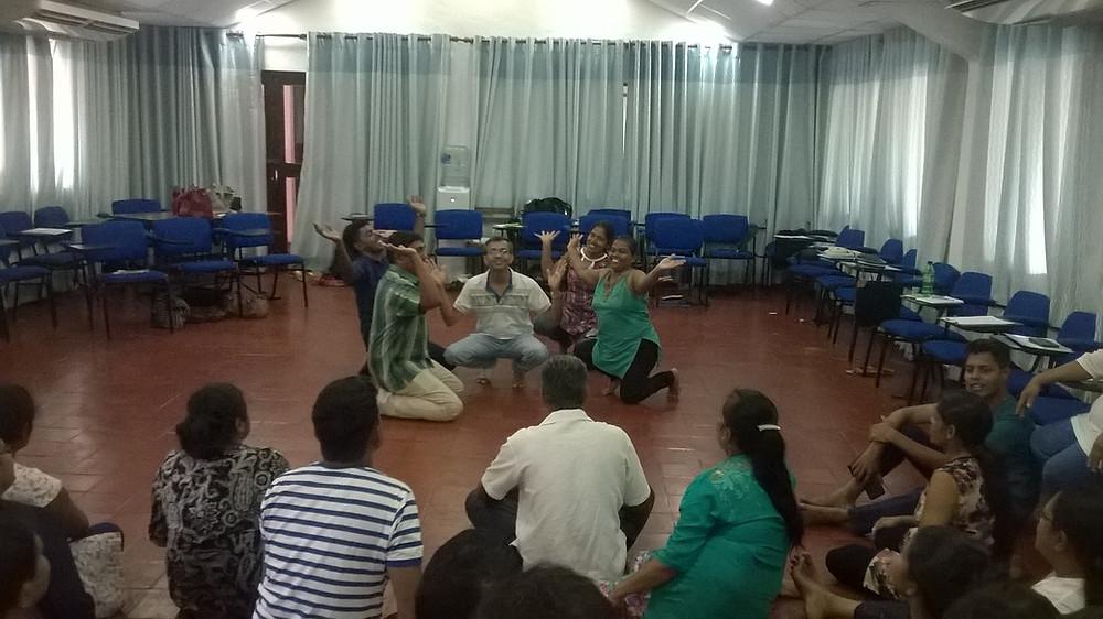 Performing as psychotherapy, Sri Lanka