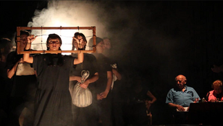 Israel: Therapeutic theater brings together holocaust survivors and teenagers to facilitate processi