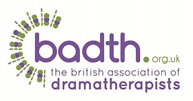 Logo of the Dramatherapy Association in the United Kingdom