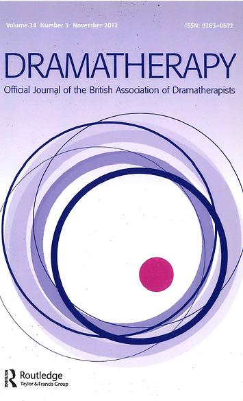 Dramatherapy journal cover, UK