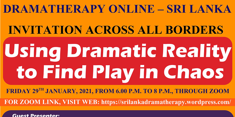 Online Dramatherapy Session for International Community