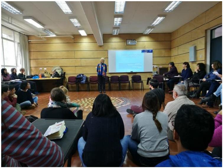 Primer Encuentro Latinoamericano de Dramaterapia, lecture, Chile