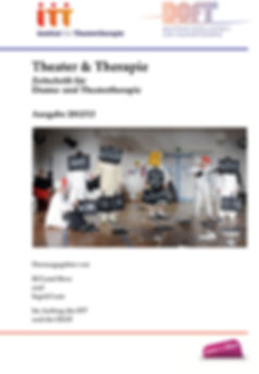 Theater & Therapie journal cover, Germany